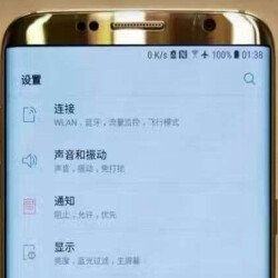 Leaked photo supposedly shows the real Samsung Galaxy S8 in Gold