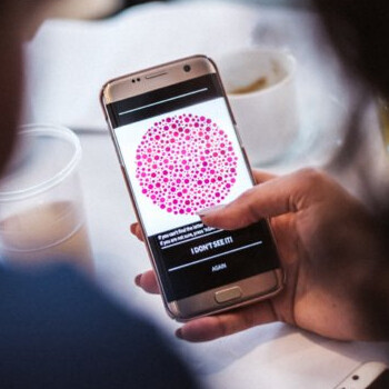 new samsung app helps color blind people see the full spectrum of colors