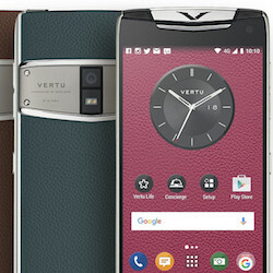 The Vertu Constellation combines high-end specs with a glorious design (likely for a lot of money)