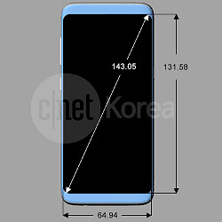 Galaxy S8 and S8 Plus design and dimensions leak out, reiterate 18:9 aspect ratio, rear finger scanner