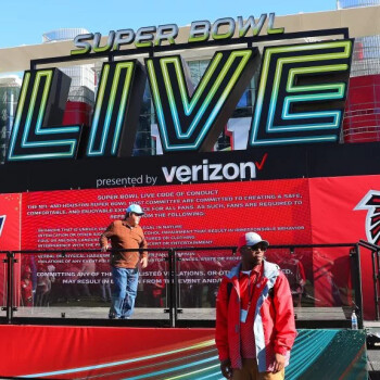 Verizon subs at the Super Bowl to bask in 4x greater network capacity