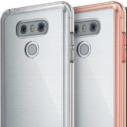 Leak shows LG G6 with brushed metal design on back