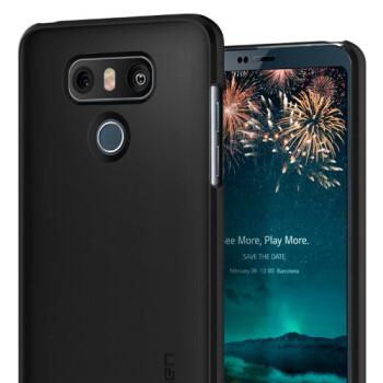 LG G6 cases by Spigen pop up on Amazon, confirm the handset's design