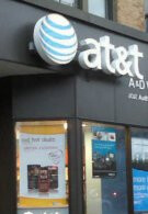 Individual sends $10 Haiti SMS donation using live phones in AT&T store