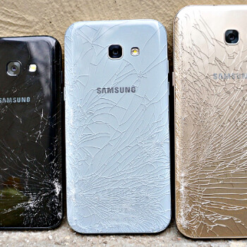 Glass back does crack: best Galaxy A5 (2017) cases and covers