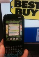 Best Buy already has stock of the Palm Pixi Plus in stores?
