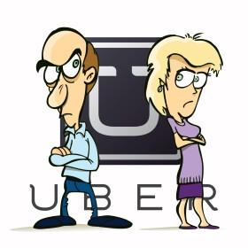 Uber sued over multi-million divorce