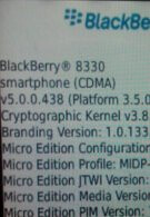 BlackBerry Curve 8330 officially jumps into OS 5