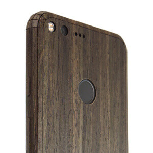 This Google Pixel and Pixel XL real wood case looks great and is made in the USA