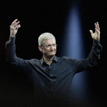"""Tim Cook: Augmented reality is """"huge"""", like the iPhone"""