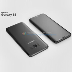 Galaxy S8 and S8+ seen from numerous angles in leak-based renders