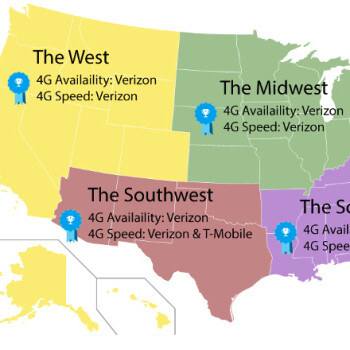 Best in the Midwest: Verizon beats T-Mobile and AT&T in regional LTE coverage and speeds