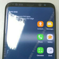 Gotcha! Samsung Galaxy S8 (S8+?) leaks again in live image, on-screen buttons and Apps edge get pictured