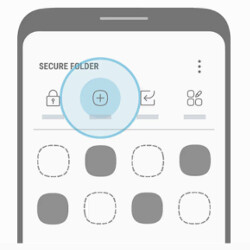 Picture from Samsung Galaxy S8 design revealed in official Secure Folder app