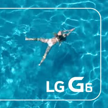 official photos 41bc7 c4613 The LG G6 is definitely water resistant - PhoneArena