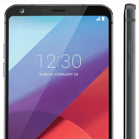 Black LG G6 leaks out
