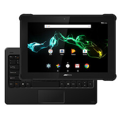 Archos unveils a shock-proof Android tablet with IP54 dust/water resistance and keyboard dock