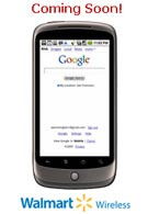 The Nexus One appears on Walmart´s website with 3G for AT&T, Verizon and Sprint