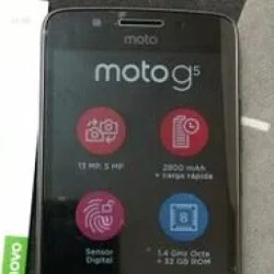 Picture of Moto G5 leaks along with a shot of the box it comes in
