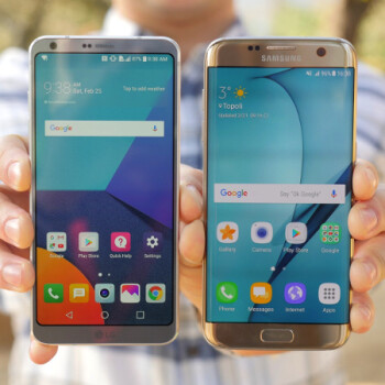 LG G6 vs Samsung Galaxy S7 edge: From Korea with love