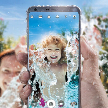 LG G6 goes official: stylish and durable 5.7-inch full-screen design in a surprisingly small body