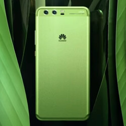 Huawei's video shows the chameleon-like Huawei P10 in all eight color options