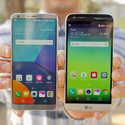 LG G5 vs LG G6: first look