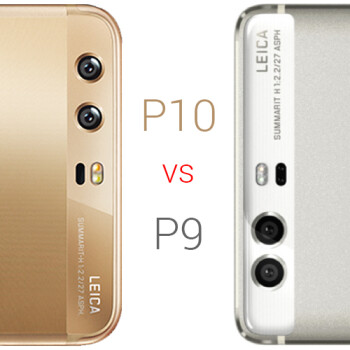 Huawei P10 vs Huawei P9: specs comparison