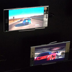 Smartphone 4K HDR in action: check out the Sony Xperia XZ Premium's display