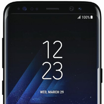 Samsung Galaxy S8 press render leaks out, this is one tall phone