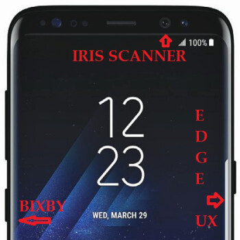 Tall, dark and handsome: Galaxy S8 finally leaked out for real, let's analyze it