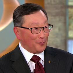 Watch BlackBerry CEO John Chen answer some silly questions on CBS This Morning (VIDEO)