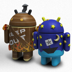 10 beautiful custom Android home screen layouts #7
