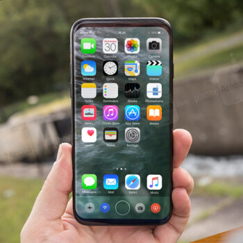This is what the bezel-less iPhone 8 may look like: ultimate design concepts of the black and white models