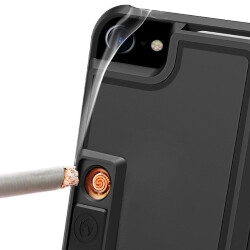 size 40 6be77 8b840 Multifunctional cigarette lighter and bottle opener iPhone 7 case ...