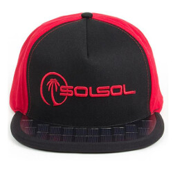 For $56, you can own a baseball cap that uses solar power to charge your phone
