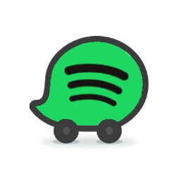 Spotify and Waze form an unlikely partnership, integrate their respective apps' functionality