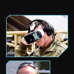 This infographic shows how much fun the US military is having with VR