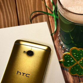 This St. Patrick's Day, HTC lets you win a 24k gold plated One M7 (US only)