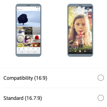 How to scale the LG G6 display for apps and games that don't fit in 18:9