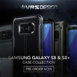 Defend that curved screen: VRS Design introduces a wide variety of cases for the Galaxy S8 and Galaxy S8+