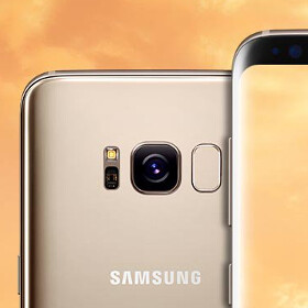 Here's a clear look at the Samsung Galaxy S8 in gold