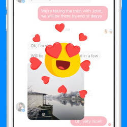 Picture from Facebook adds Reactions and Mentions to Messenger app on Android and iOS