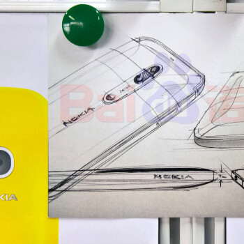 Picture from Alleged fllagship Nokia sketching flaunts Zeiss-branded dual camera