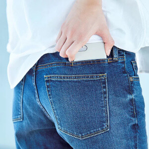 Picture from All jeans should have this cool sixth pocket for smartphones
