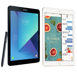Picture from The new iPad and the Galaxy Tab S3 go on sale today, are you picking one?