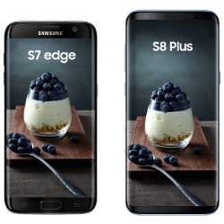 Galaxy S8 specs pop up on AnTuTu, S8+ gets sized with the S7 edge