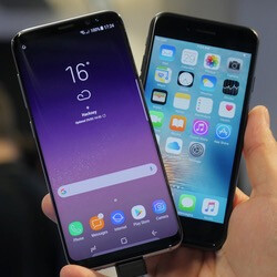 Picture from Samsung Galaxy S8 vs Apple iPhone 7: best of the best