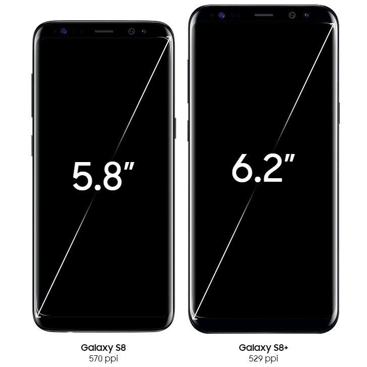 galaxy s8 and s8  e with 1080p resolution as default