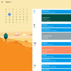 Picture from Google Calendar makes a debut on iPad: tablet format, goal setting and more